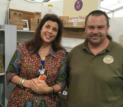Kirtstie Allsopp hosted The Handmade Fair at Hampton Court Palace 16-18th September 2016