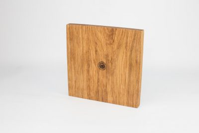 English Oak Baked Camembert Wooden Serving Board